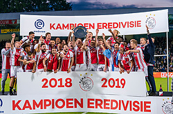 15-05-2019 NED: De Graafschap - Ajax, Doetinchem<br /> Round 34 / It wasn't really exciting anymore, but after the match against De Graafschap (1-4) it is official: Ajax is champion of the Netherlands / Ajax kampioen 2018-2019