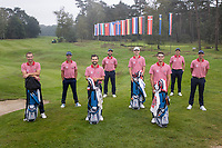 HILVERSUM -  TEAM FRANCE / FRANKRIJK . ELTK Golf  2020 The Dutch Golf Federation (NGF), The European Golf Federation (EGA) and the Hilversumsche Golf Club will organize Team European Championships for men.  COPYRIGHT KOEN SUYK