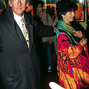 Premiere Siberia Tuschinski, Freek de Jonge en vrouw Hella Asser