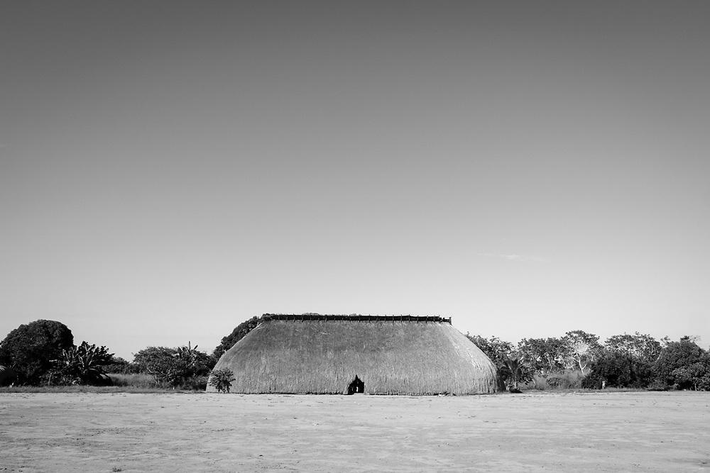 Aldeia Yawalapiti, etnia Yawalapity, Alto Xingu.