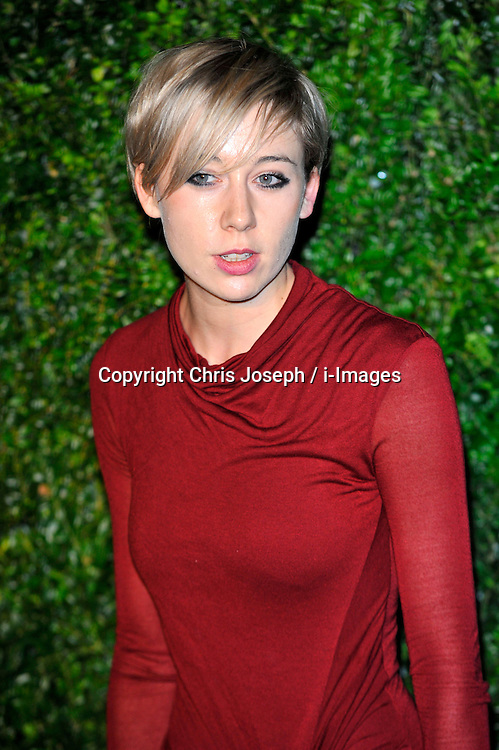 Polly Stenham attends the 58th London Evening Standard Theatre Awards in association with Burberry, London, UK, November 25, 2012. Photo by Chris Joseph / i-Images.
