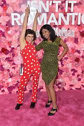 February 11, 2019 - Los Angeles, Kalifornien, USA - Sandy Honig und Shonali Bhowmik bei der Weltpremiere des Kinofilms 'Isn't It Romantic' im Theatre at Ace Hotel. Los Angeles, 11.02.2019 (Credit Image: © Future-Image via ZUMA Press)