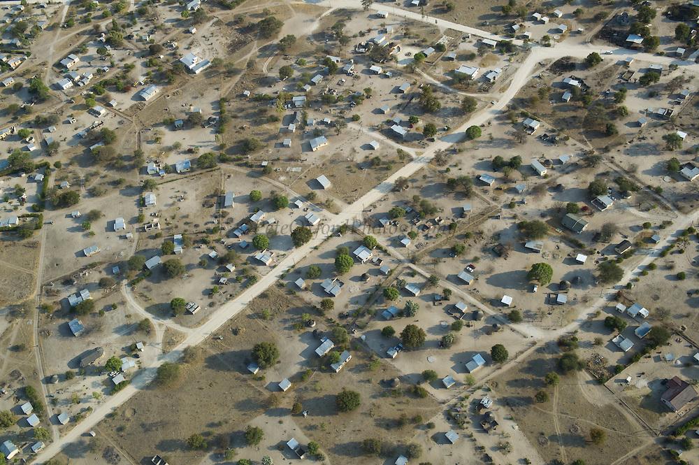 Maun - 5th largest town in Botswana on Thamalakane River<br /> Okavango Delta<br /> BOTSWANA