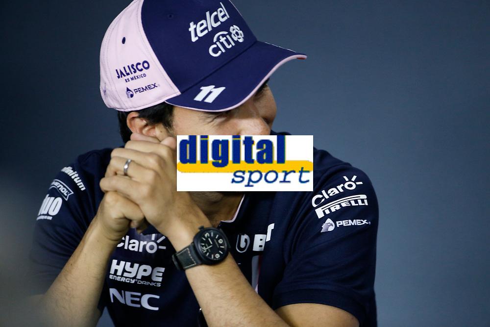 Sergio Perez Racing Point Force India<br /> Monza 30-08-2018 GP Italia <br /> Formula 1 Championship 2018 <br /> Foto Federico Basile / Insidefoto