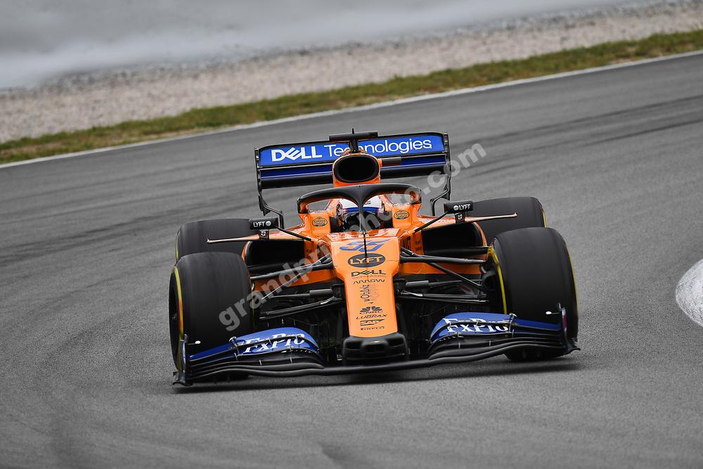 Carlos Sainz Jr (McLaren-Renault) during practice for the 2019 Spanish Grand Prix at the Circuit de Barcelona-Catalunya. Photo: Grand Prix Photo