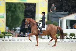 Koppelmann Carola, (GER), Deveraux B <br /> Grand Prix CDI4*<br /> CDIO Hagen 2015<br /> © Hippo Foto - Stefan Lafrentz<br /> 10/07/15