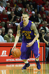 29 December 2011:  Marc Sonnen during an NCAA mens basketball game between the Northern Illinois Panthers and the Illinois State Redbirds in Redbird Arena, Normal IL