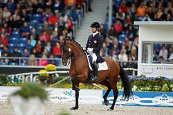 Carvalho Goncalo, (POR), Batuta<br /> Grand Prix Kur<br /> European Championships - Aachen 2015<br /> © Hippo Foto - Dirk Caremans<br /> 16/08/15
