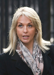 © London News Pictures. 23/11/2011. London, UK.  Sheryl Gascoigne, the ex-wife of Paul Gascoigne arriving at The Royal Courts of Justice today (23/11/2011) to give evidence at the Leveson Inquiry into press standards. The inquiry is being lead by Lord Justice Leveson and is looking into the culture, and practice of the UK press. Photo credit : Ben Cawthra/LNP