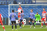Scott Malone, Bartosz Bialkowski during the EFL Sky Bet Championship match between Sheffield Wednesday and Millwall at Hillsborough, Sheffield, England on 7 November 2020.
