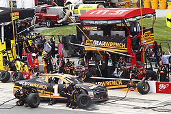 May 6, 2018 - Dover, Delaware, United States of America - Jamie McMurray (1) comes down pit road for service during the AAA 400 Drive for Autism at Dover International Speedway in Dover, Delaware. (Credit Image: © Justin R. Noe Asp Inc/ASP via ZUMA Wire)