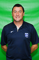 Viorel Moldovan of Auxerre during Auxerre squad photo call for the 2016-2017 Ligue 2 season on September, 7 2016 in Auxerre, France ( Photo by Andre Ferreira / Icon Sport )