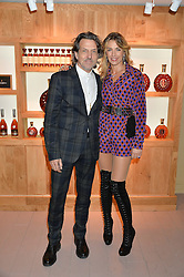 STEPHEN & ASSIA WEBSTER at the launch of La Maison Remy Martin based at 19 Greek Street, London on 24th November 2014.