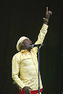 Jimmy Cliff  at the Glastonbury Festival, Somerset, Britain - 28 June 2003.
