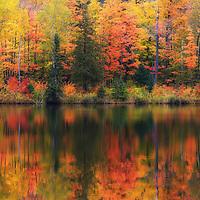 """Lake Plumbago Dream""<br /> <br /> Enjoy the dreamy feel of this wonderful autumn scene!"