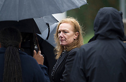© London News Pictures. 19/09/2013. London, UK. Carol Duggan, the aunt of Mark Duggan  during a visit to the scene where Mark Duggan was shot dead by armed police in an incident that sparked the 2011 London Riots. The visit is part of an ongoing inquest into the death of Mark Duggan. Photo credit: Ben Cawthra/LNP