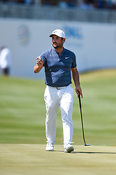 March 21, 2018 - Austin, TX, U.S. - AUSTIN, TX - MARCH 21: Alexander Levy walks off the green during the First Round of the WGC-Dell Technologies Match Play on March 21, 2018 at Austin Country Club in Austin, TX. (Photo by Daniel Dunn/Icon Sportswire) (Credit Image: © Daniel Dunn/Icon SMI via ZUMA Press)