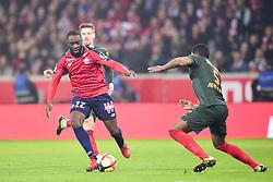 March 15, 2019 - Lille, France, FRANCE - Jonathan Ikone  (Credit Image: © Panoramic via ZUMA Press)