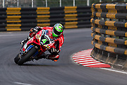 Glenn IRWIN, TAK CHUN Racing by PBM/Penz13, Ducati<br /> <br /> 64th Macau Grand Prix. 15-19.11.2017.<br /> Suncity Group Macau Motorcycle Grand Prix - 51st Edition<br /> Macau Copyright Free Image for editorial use only