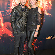 NLD/Amsterdam/20151116 - Filmpremiere The Hunger Games: Mokingjay-part 2, Ruud Feltkamp en partner Michelle