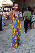 13 September-Brooklyn, New York: Michelle Pascal, Map Unlimited attends the Essence Street Style Block Party held at The Dumbo Archway Under the Manhattan Bridge on September 13, 2015 in the DUMBO section of Brooklyn, New York.   (Photo by Terrence Jennings/terrencejennings.com)