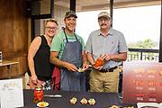 PEPPER - aji and habanero<br /> Curator: Jim Myers, Oregon State University<br /> Chef: Bryan Mesa, De la Mesa Salsa