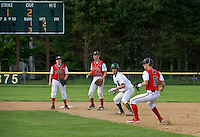 NHIAA Division IV baseball semi finals at PSU between Pittsfield and Sunapee Wednesday, June 6, 2012.   (Karen Bobotas/for the Concord Monitor)