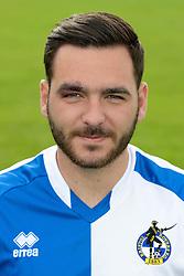 Jake Gosling of Bristol Rovers - Mandatory byline: Dougie Allward/JMP - 07966386802 - 03/08/2015 - FOOTBALL - Bristol Rovers Training Ground -Bristol,England - Bristol Rovers Headshots