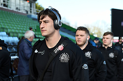 Tom Hendrickson and the rest of the Exeter Chiefs team arrive at the Stoop - Mandatory byline: Patrick Khachfe/JMP - 07966 386802 - 29/02/2020 - RUGBY UNION - The Twickenham Stoop - London, England - Harlequins v Exeter Chiefs - Gallagher Premiership