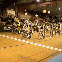 28-12-2017: Wielrennen: NK Baan: Alkmaar<br />Scratch mannen wedstrijd beeld