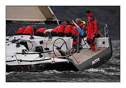 Brewin Dolphin Scottish Series 2010, Tarbert Loch Fyne - Yachting..Day one stated late but resulted in good conditions on Loch Fyne..IRL3939 ,Antix ,Anthony O'Leary, Royal Cork YC ,Ker 39...