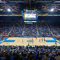 UCLA Athletics - 2019-2020 UCLA Bruins Men's Basketball versus the USC Trojans, Pauley Pavilion, UCLA, Los Angeles, CA.<br /> January 11th, 2020<br /> Copyright Don Liebig/ASUCLA<br /> 200111_MBKC_411.NEF