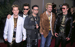 Dec 05, 2000; Los Angeles, CA, USA; N'SYNC American Pop Grou Attending the Billboard Awards..  (Credit Image: ONS/ZUMAPRESS.com)