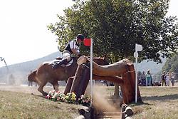 Ostholt Frank (GER) - Air Jordan 2<br /> European Championship Pratoni del Vivaro 2007<br /> Photo © Hippo Foto
