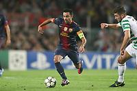 FOOTBALL - UEFA CHAMPIONS LEAGUE 2012/2013 - GROUP G - FC BARCELONA v CELTIC GLASGOW - 23/10/2012 - PHOTO MANUEL BLONDEAU / AOP PRESS / DPPI - XAVI HERNANDEZ