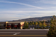 Landschap bij de Amerikaanse plaats Reno, Nevada.<br /> <br /> The landscape near Reno, Nevada