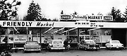 Even markets have a friendly atmosphere. This one is on Des Moines Way South. (The Seattle Times archives, 1972)