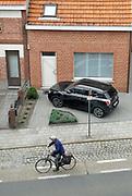 Belgie, Belgium, Arendonk, 20-6-2019House for sale. Huis te koop in een straat met veel bakstenen huizen. Rood, rode stenen.FOTO: FLIP FRANSSEN