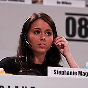 NLD/Hilversum/20100121 - Benefietactie voor het door een aardbeving getroffen Haiti, Stephanie Magnusson