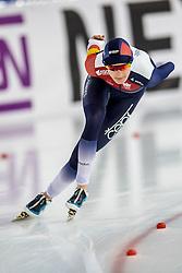 11-12-2016 NED: ISU World Cup Speed Skating, Heerenveen<br /> Martina Sablikova CZE pakt de goeden medaille op de 5000 m