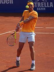 April 27, 2018 - Barcelona, Spain - Rafa Nadal during the match between Martin Klizan during the Barcelona Open Banc Sabadell, on 27th April 2018 in Barcelona, Spain. (Credit Image: © Joan Valls/NurPhoto via ZUMA Press)
