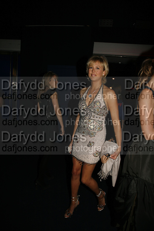 Lady Alexandra Spencer-Churchill, Emporio Armani Red One Night Only. Brompton Hall, Earls Court. London. 21 September 2006.  . ONE TIME USE ONLY - DO NOT ARCHIVE  © Copyright Photograph by Dafydd Jones 66 Stockwell Park Rd. London SW9 0DA Tel 020 7733 0108 www.dafjones.com