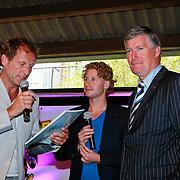 NLD/Amsterdam/20110605 - Premiere Penny's Shadow, Steven de Jong, Ewout Genemans en burgemeester van Ameland Albert de Hoop