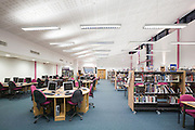 Library Interior, night
