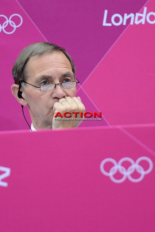 Torsten Berg, Badminton Referee, Olympic Badminton London Wembley 2012