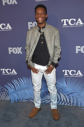 August 2, 2018 - West Hollywood, California, U.S. - Dante Brown arrives for the FOX Summer TCA 2018 All-Star Party at Soho House. (Credit Image: © Lisa O'Connor via ZUMA Wire)