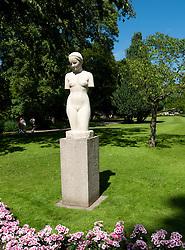 Statue in Tradgardsforeningen Park in Gothenburg Sweden