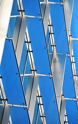 Modern Building Exterior, London, England