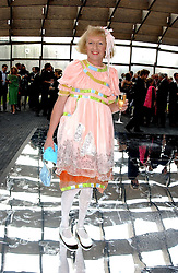 Artist GRAYSON PERRY at the annual Serpentine Gallery Summer Party co-hosted by Jimmy Choo shoes held at the Serpentine Gallery, Kensington Gardens, London on 30th June 2005.<br /><br />NON EXCLUSIVE - WORLD RIGHTS