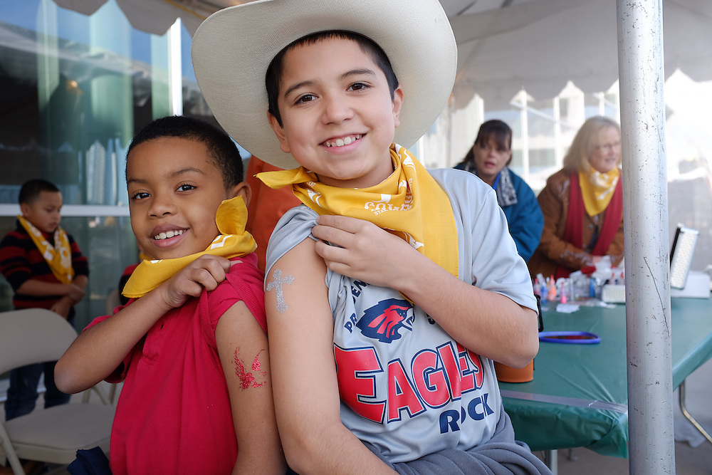 Scene from the 2014 Star of Texas Fair and Rodeo Cowboy Breakfast, held February 21, 2014 at the Long Center, Austin, Texas.  Mark Matson for Rodeo Austin
